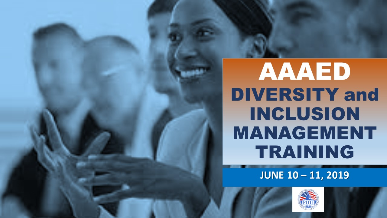 DIVERSITY AND INCLUSION MANAGEMENT TRAINING Banner